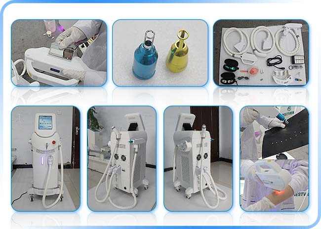 E Light+RF+Q Switch Nd Yag laser machine cost