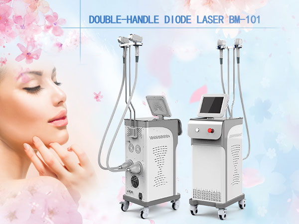 double-handle diode laser hair removal machine price